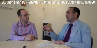 Segunda línea de tratamiento para cáncer de pulmón no escamoso – Dr. Ernest Nadal
